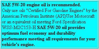 bullitt archive mustang   oil requirements