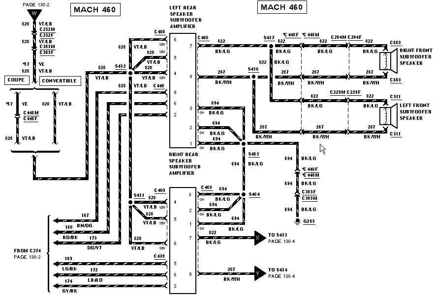 Bullitt Archive Mustang Radio Wiring Diagrams